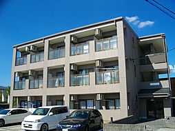 愛知県日進市北新町殿ケ池下の賃貸マンションの外観