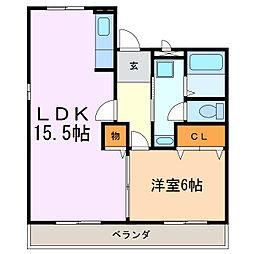 ファミールKATO[2階]の間取り