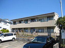 愛知県日進市梅森台4丁目の賃貸アパートの外観