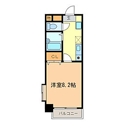 UMEX-7[5階]の間取り