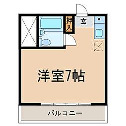 柊5番館[2階]の間取り