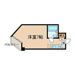 柊5番館[1階]の間取り