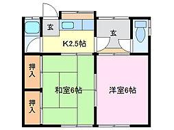 [一戸建] 三重県鈴鹿市平田東町 の賃貸【/】の間取り