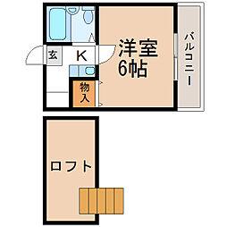 東松江駅 2.2万円