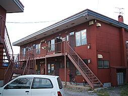 北海道函館市海岸町の賃貸アパートの外観