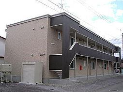 北海道北斗市谷好4丁目の賃貸アパートの外観