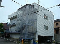 北海道函館市柏木町の賃貸アパートの外観