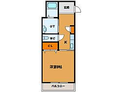 北海道函館市末広町の賃貸マンションの間取り