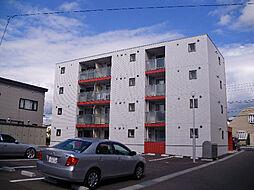 北海道函館市富岡町2丁目の賃貸マンションの外観