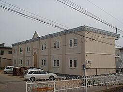 北海道函館市神山3丁目の賃貸アパートの外観