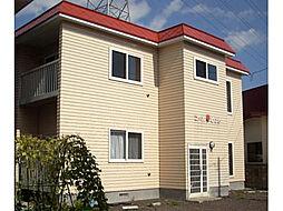 北海道北斗市大工川1丁目の賃貸アパートの外観