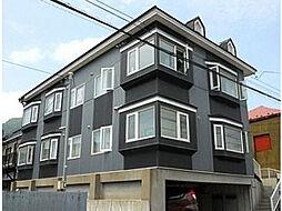 北海道函館市元町の賃貸アパートの外観
