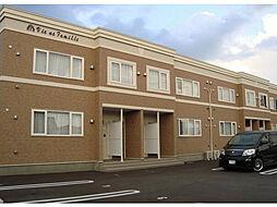 北海道函館市鍛治2丁目の賃貸アパートの外観