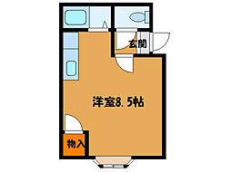 北海道函館市五稜郭町の賃貸マンションの間取り
