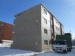北海道函館市富岡町3丁目の賃貸マンションの外観