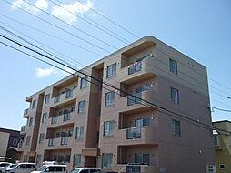 北海道北斗市追分4丁目の賃貸マンションの外観