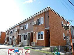 北海道函館市東山2丁目の賃貸アパートの外観