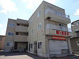北海道北斗市東浜2丁目の賃貸アパートの外観
