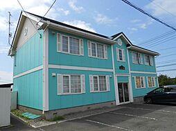 北海道函館市桔梗町の賃貸アパートの外観