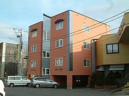 北海道函館市湯川町1丁目の賃貸アパートの外観
