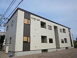 北海道亀田郡七飯町鳴川1丁目の賃貸アパートの外観