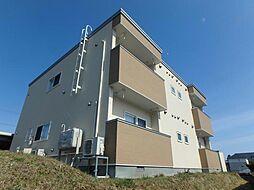 北海道亀田郡七飯町本町2丁目の賃貸アパートの外観