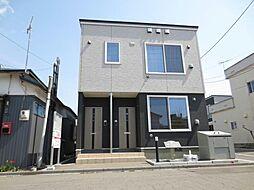 北海道函館市八幡町の賃貸アパートの外観