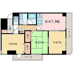 KATO−II[2階]の間取り
