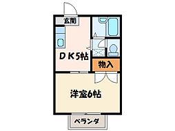 Urban Villa[1階]の間取り