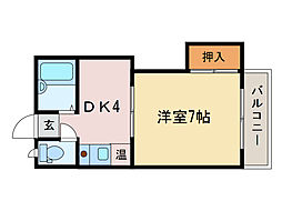 メゾン千[2階]の間取り
