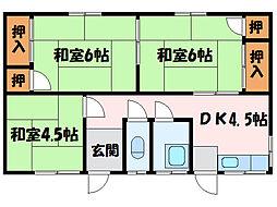 [一戸建] 愛媛県新居浜市庄内町3丁目 の賃貸【/】の間取り