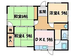 [一戸建] 愛媛県新居浜市瀬戸町 の賃貸【/】の間取り