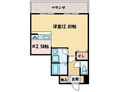 ロイヤルステージ庄内[2階]の間取り