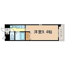 滋賀県大津市島の関の賃貸マンションの間取り