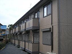 滋賀県大津市大江2丁目の賃貸アパートの外観