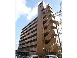 滋賀県大津市螢谷の賃貸マンションの外観
