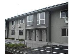 滋賀県大津市北大路2丁目の賃貸アパートの外観