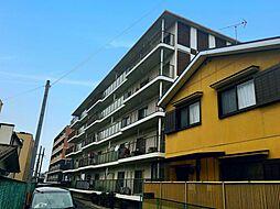 滋賀県大津市大江2丁目の賃貸マンションの外観