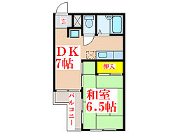 TOMOEBLD2[2階]の間取り