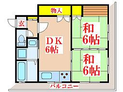 下原ビル [1階]の間取り