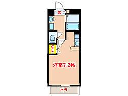 ロイヤルシティー新上橋[4階]の間取り