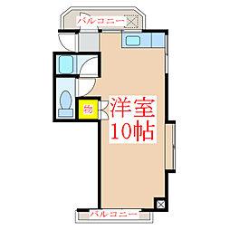 福重ビル [3階]の間取り