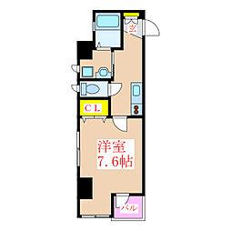 プチシャトラン樋之口[5階]の間取り