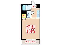 パークサイド西田 [3階]の間取り