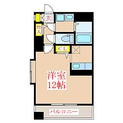 コンフォートNANーA[7階]の間取り