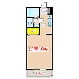 ペガサスII[3階]の間取り