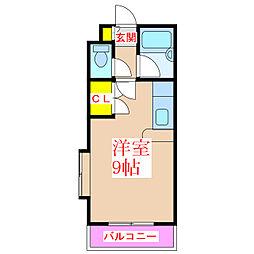 エントピア南林寺[4階]の間取り