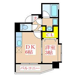 ツインコート・タワーズII番館[9階]の間取り