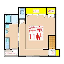 CASA GOU(別棟) 管理[2階]の間取り