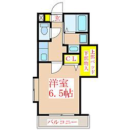 GRAND CIMA ZERO[1階]の間取り